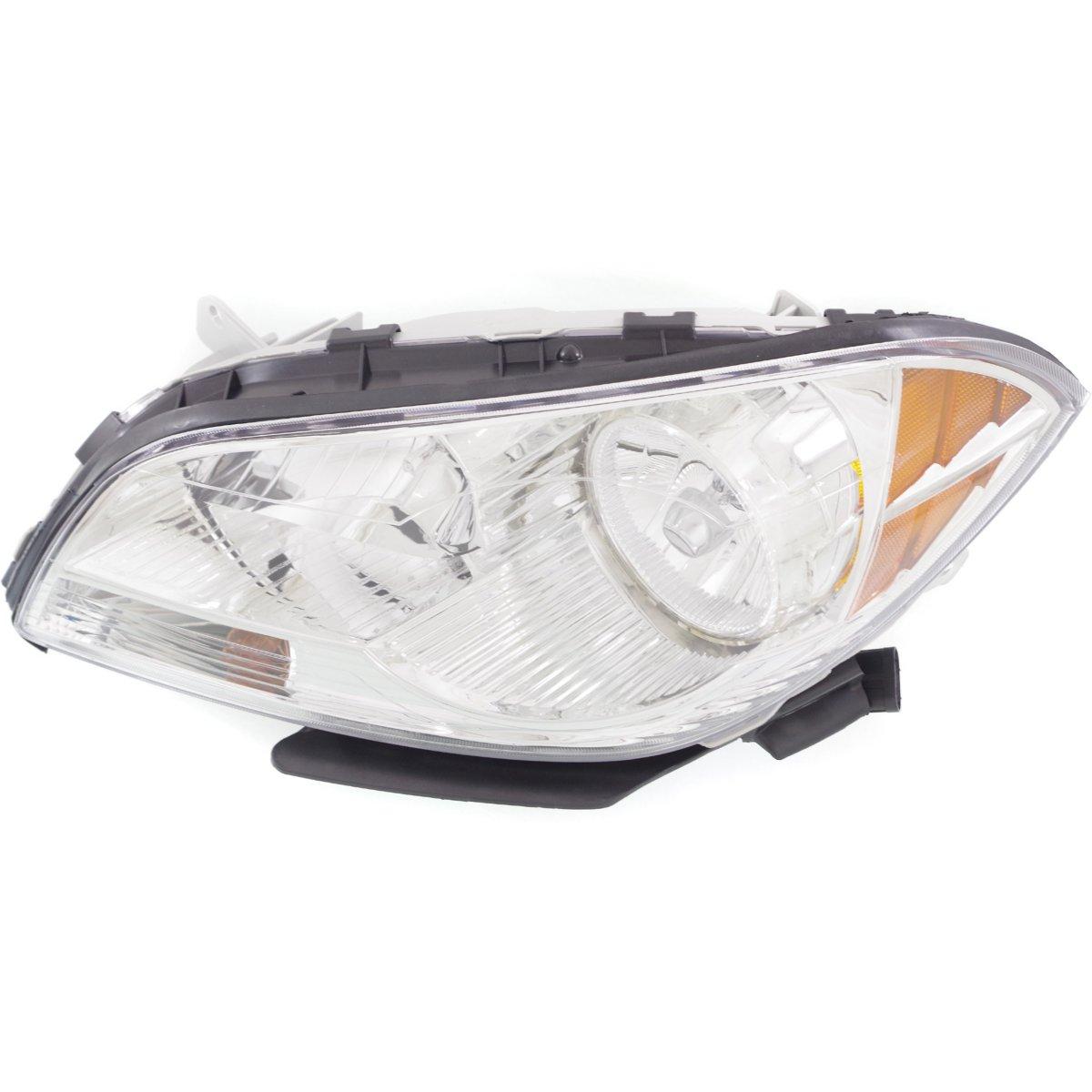 Headlight For 2008-2012 Chevrolet Malibu Driver Side W