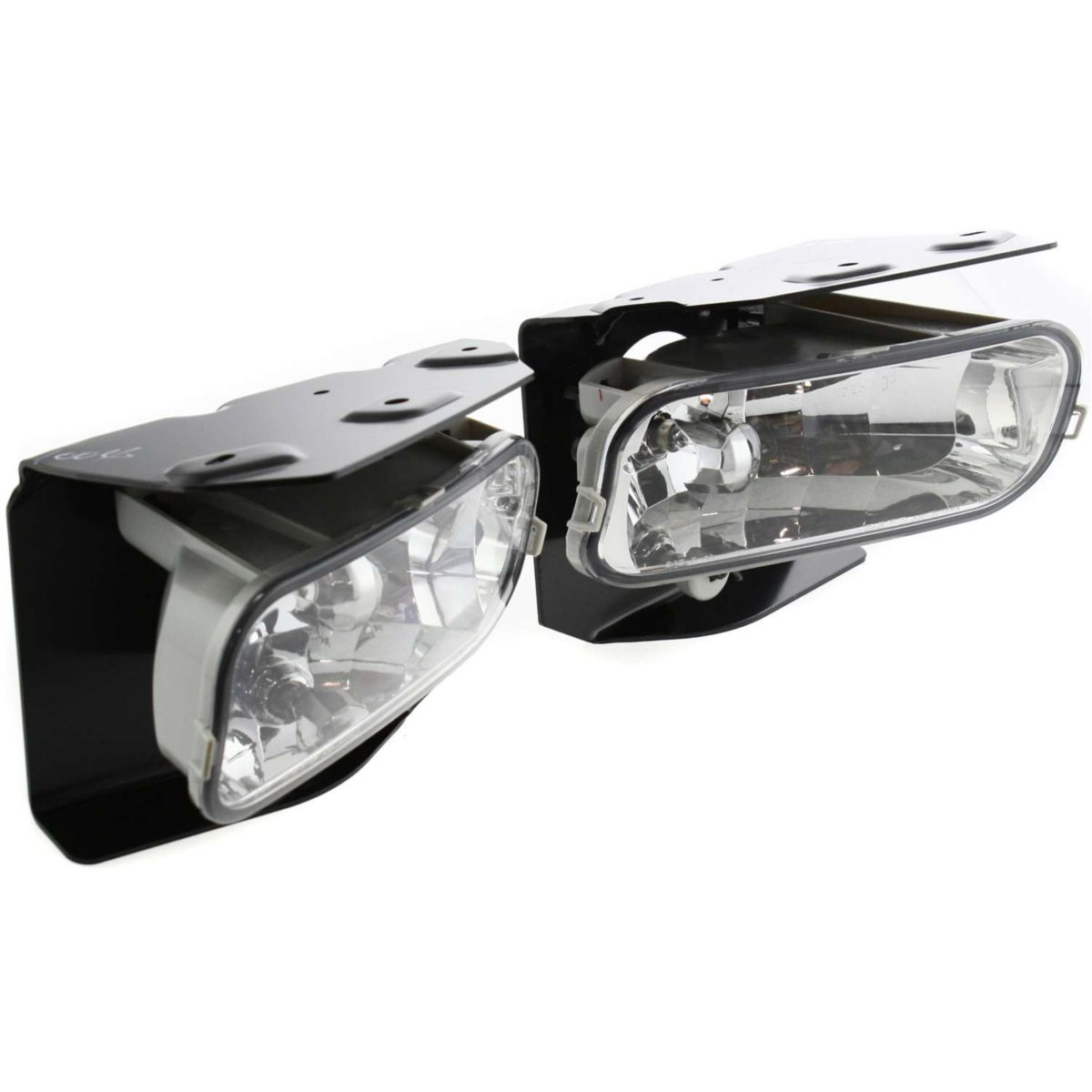 StyleLine Set of 2 Clear Lens Fog Light For 99-03 Ford F-150 LH /& RH
