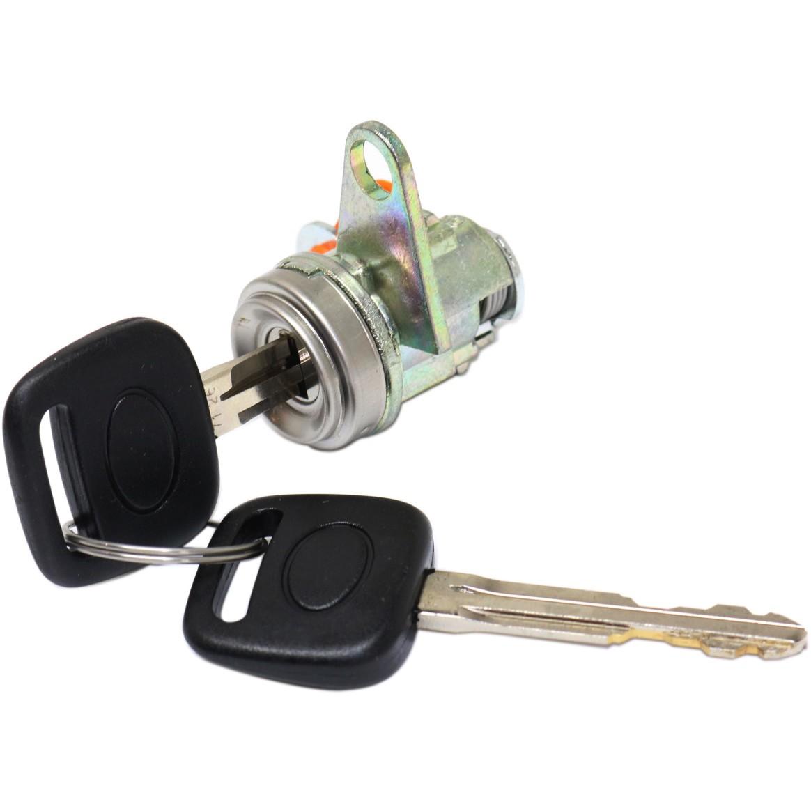 New-Door-Lock-Cylinders-Set-of-2-Driver-amp-Passenger-Side-LH-RH-7720152060-Pair thumbnail 2
