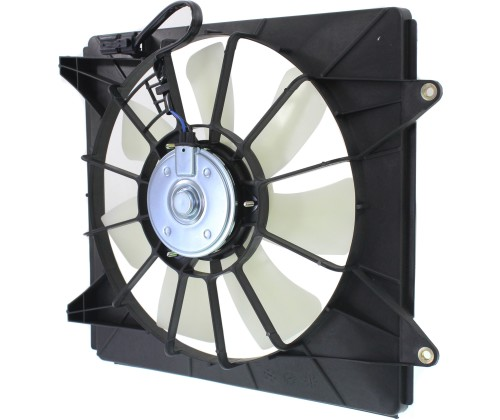 A/C Condenser Cooling Fan For 2008-2012 Honda Accord 2009